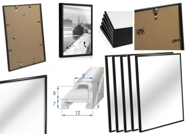 Modern Black Aluminium Picture Frame 14 X 20 Inch * for Home and ...