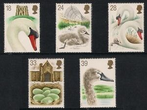 GB-1993-Commemorative-Stamps-Swannery-Unmounted-Mint-Set-UK-Seller