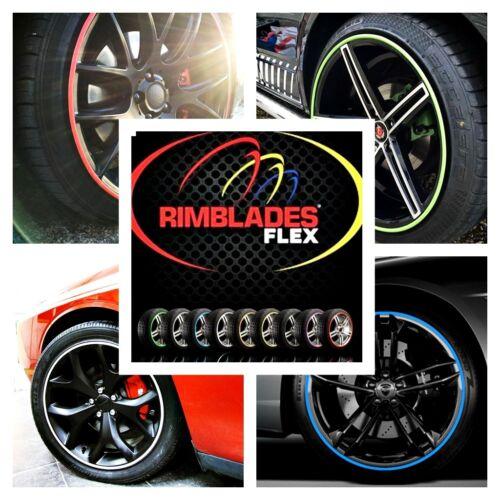 Bicicleta De Rueda de Aleación de coche Flex Rimblades Aleación Borde Estilo De Protección Protector de rueda