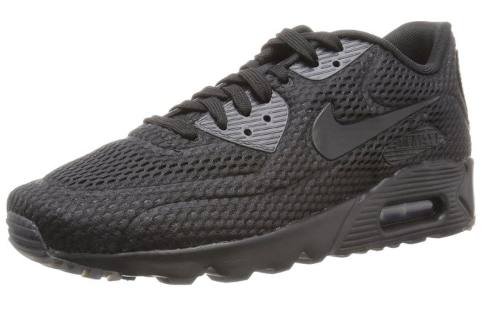 timeless design 816b3 3d5f7 lovely Size 14 Men s Nike Air Max 90 Ultra BR 725222 010 Black Black