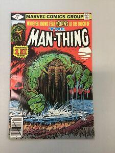 The-Man-thing-1-Marvel-Comics-1979-Jim-Mooney-Bob-Wiacek-Bronze-Age-MT03