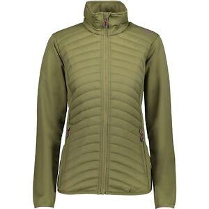 CMP-giacca-funzionale-trapuntata-verde-elasticizzato-THINSULATE-TRASPIRANTE