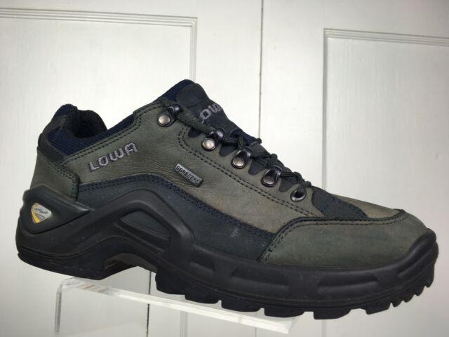 LOWA Renegade II GTX Lo Gore Tex Leather Hiking Boots Waterproof Men's Sz 8 GUC