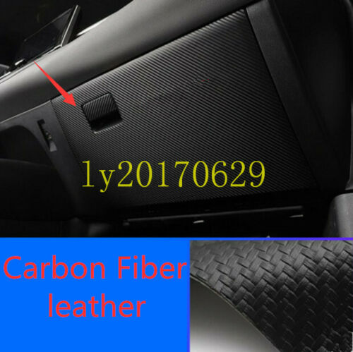 Carbon Fiber Control Storage box Anti Kick Pad Cover For Toyota Corolla 2020