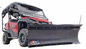 Details About Kfi 72 Utv Poly Blade Snow Plow Kit For 2016 2020 Honda Pioneer 1000 5