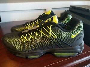 arrives special section temperament shoes Nike Air Max 95 Ultra Jacquard - Black Volt - 749771-007 - Men's ...