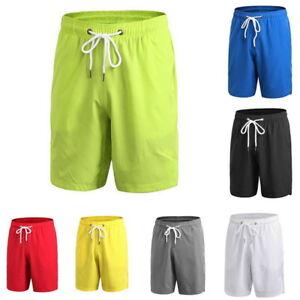 US-Men-Loose-Fitness-Short-Drawstring-Quick-Dry-Basketball-Workout-Short-Trouser
