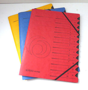Ordnungsmappe-Unterschriftenmappe-Ordnermappe-Herlitz-Pappe-A-Z-Register