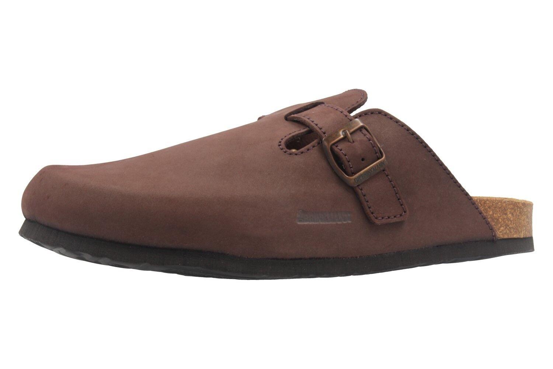 DR. BRINKMANN - Herren Clogs - Braun Schuhe in Übergrößen