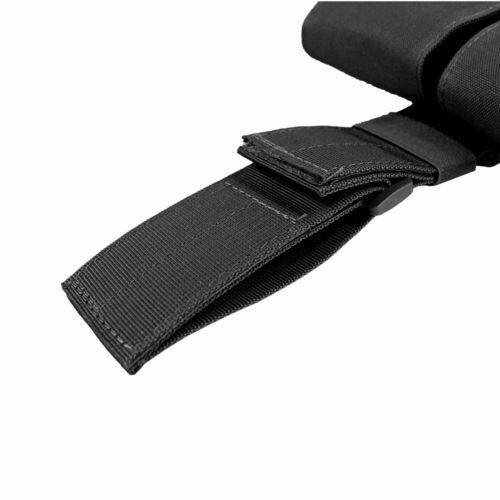 Tactical Molle Double Mag Pouch Bag Drop Leg Panel Utility Pouch Bag