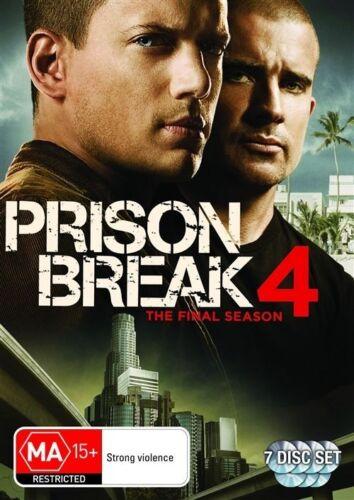 1 of 1 - Prison Break Series : Season 4 (THE FINAL) : NEW DVD
