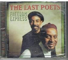 THE LAST POETS - FREEDOM EXPRESS - MOVIE PLAY - 1996 - CD NUOVO  SIGILLATO