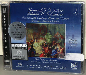 CHESKY-HYBRID-SACD-262-Music-from-the-Viennese-Court-USA-2003-Factory-SEALED