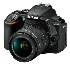 Nikon D5600 AF-P 18-55 VR Lens with 16GB Memory Card...