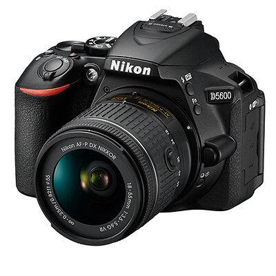 Nikon D5600 AF-P 18-55 VR Lens with 16GB Memory Card & GST Invoice