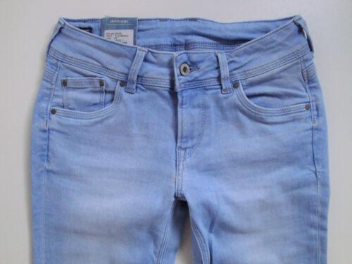 Saturn Neu Blau L32 Jeans W26 Tuyau Pepe W25 L32 Stretch Droite Cuisse ZngxpTqa