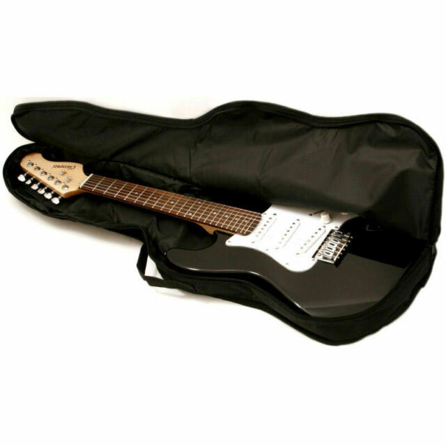 ELECTRIC GUITAR GIG BAG SOFT CASE CLEARWATER GIGBAG TOP OF THE RANGE