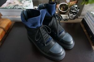 Mens Authentic Kris Van Assche Multi Lace Leather Sneakers Size 45 ... ca3e0ce2e