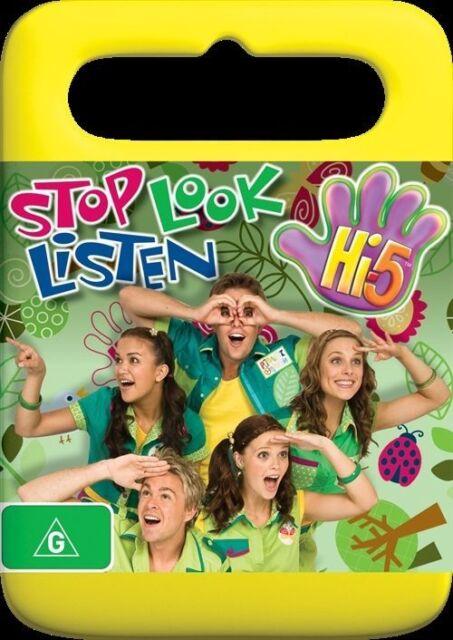 Hi-5 Stop, Look And Listen DVD - Region 4 *FREE POST*