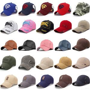 Herren-Baseball-Cap-Kappe-Basecap-Snapback-Tenniscap-Golfcap-Hip-Hop-Muetze-Hute