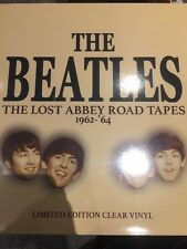 THE BEATLES 'THE LOST ABBEY ROAD TAPES 1962 - 64' NEW 2017 LP ON CLEAR VINYL