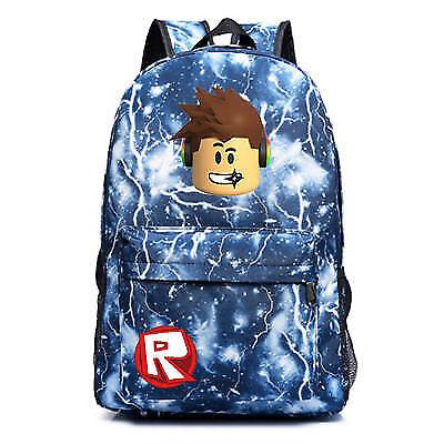 2019 UK Roblox Backpack Kids School Bag Students Boys Bookbag Handbags Travelbag