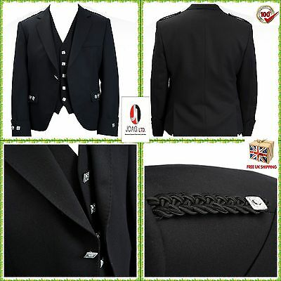 Sensibile A Rombi Kilt Giacca E Gilet/gilet, Kilt Scozzese A Rombi/argyle Giacca E Gilet-, Scottish Argyle Kilt/ Argyle Jacket & Vest It-it Processi Di Tintura Meticolosi