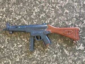 VINTAGE PALITOY/HASBRO ACTION MAN H&K MP5 MACHINE GUN MADE IN HONG KONG VGC
