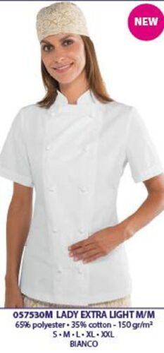 In Light Bianco Italy M Lady Donna Made Isacco 057530m m Giacca Extra Chef 8qE4PZw