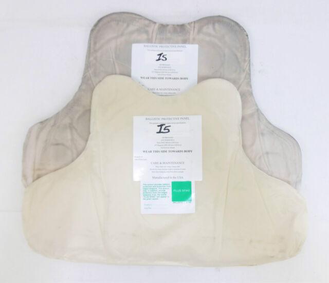 X Police NIJ L2 Bullet Stab & Spike Proof Protective Vest Panel Set ( I5 )