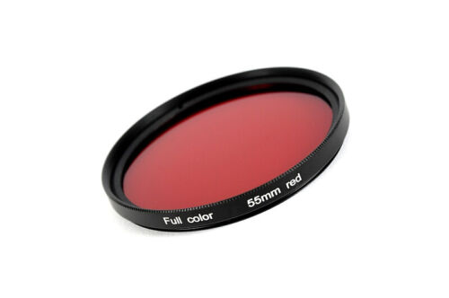 Filtros de color color filtro rojo//red 55 mm