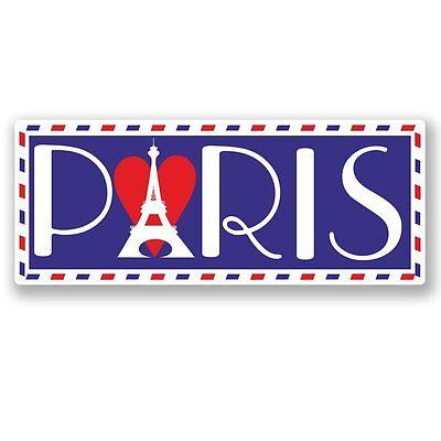 2 X France French Vinyl Sticker Laptop Travel Luggage Car #5680 Goedkope Verkoop