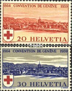 Schweiz-357-358-kompl-Ausgabe-gestempelt-1939-75-Jahre-Rotes-Kreuz