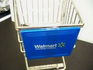 MINATURE-WALMART-GROCERY-SHOPPING-CART-10-1-4-INCHES