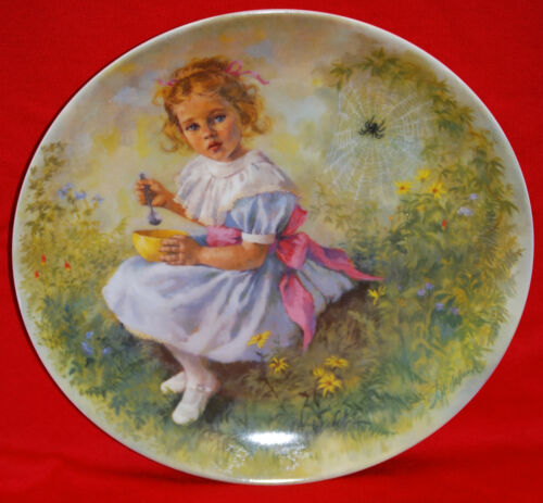 """Little Miss Muffet"" 1981 Collector Plate by John McClelland"
