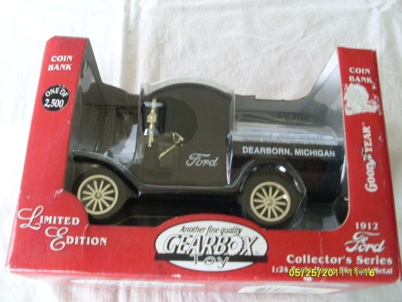 GEARBOX 1 24 LIMITED EDITION EDITION EDITION 1912 FORD TANKER DELIVERY 41f07f