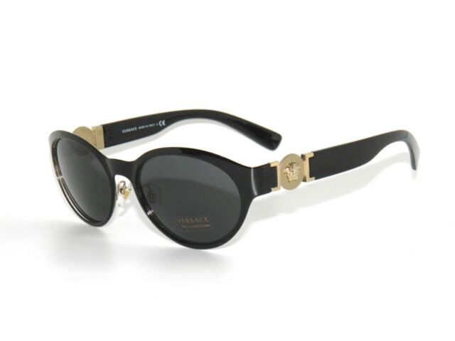 4ff580b63b235 Versace Sunglasses Women Ve 2179 Black 129187 Ve2179 55mm for sale ...