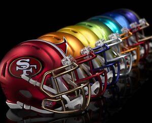 PICK-TEAM-STICKER-HELMET-SHAPED-NFL-BLAZE-STYLE-QUALITY-VINYL-DECAL-3x3-inches