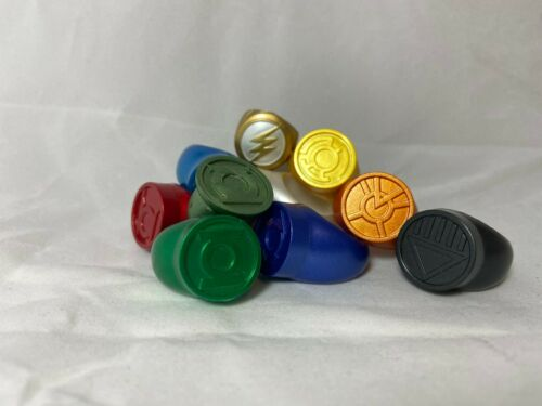 Green Lantern Power Ring Vintage Plastique PROMO Ring 2009