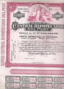 Banco-Central-Hipotecario-del-Peru-Lima-19xx-1000-unissued