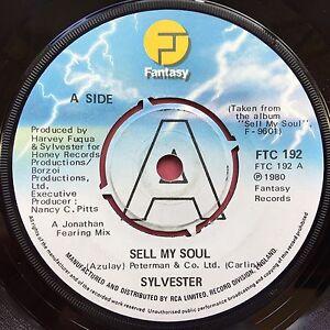 Sylvester-Sell-My-Soul-Fantasy-FTC-192-Ex-Condizioni-A1-B1-Promo-Copia