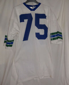 90dfc0d20ef Vintage Seattle Seahawks  75 ROBERT HARDY Team Issued NFL Football ...