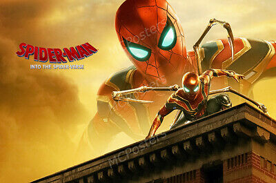 Marvel Spider-Man Far From Home Movie Poster Glossy Finish MCP948 Posters USA