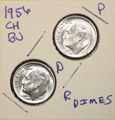 D Roosevelt Dimes BU in Mint Cello Decade Set 20 US Coins 1990-1999 P