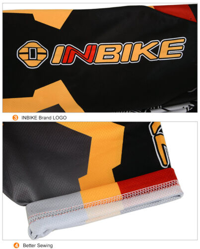 INBIKE Cycling bike Outdoor Sports Short Sleeves Jersey Top Only IA366 SJ