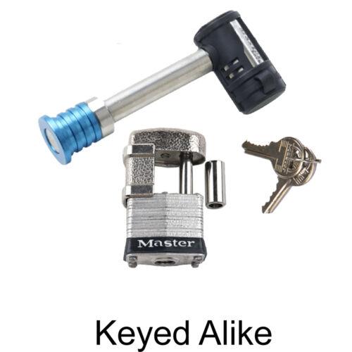 Master Lock 2 Trailer Locks Keyed Alike  2KA-1480-37
