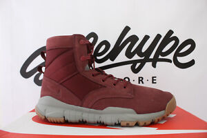 "NIKE SFB 6"" SPECIAL FIELD BOOT DARK TEAM RED GUM LEATHER 862507 600 ... 35797e38a"