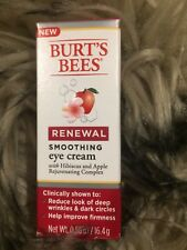 Burt's Bees Renewal Smoothing Eye Cream 0.58 Ounce