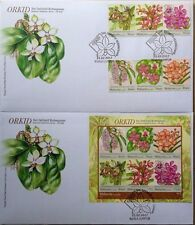Malaysia FDC with Miniature/Stamps (21.02.2017) - Orchids