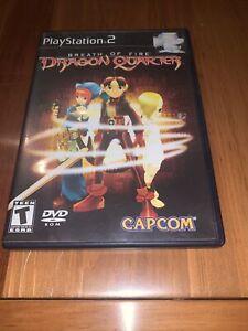 Breath of Fire: Dragon Quarter Sony PlayStation 2 [PS2, RPG, Capcom] Complete